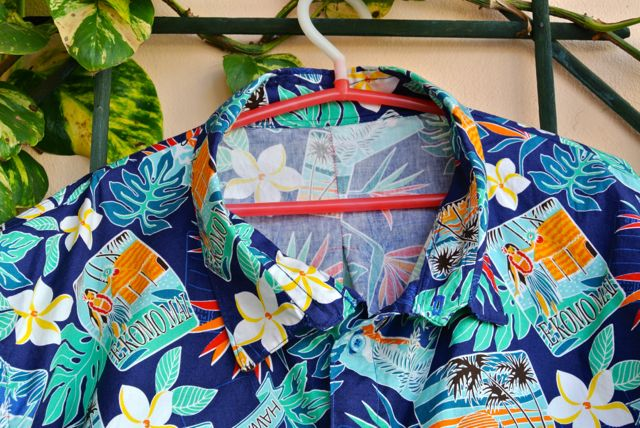 collar Hawaiian Shirt